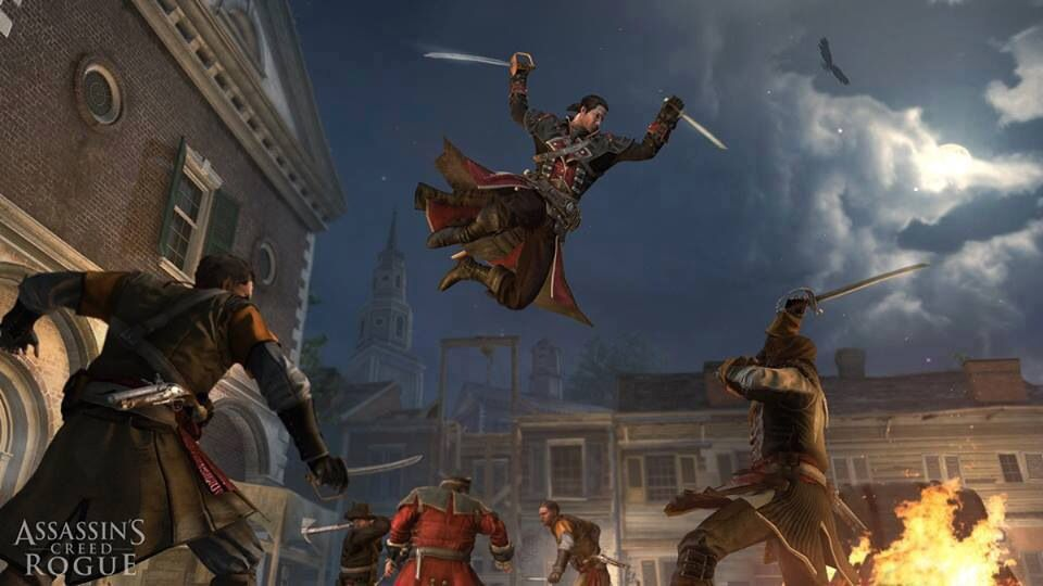Assassin S Creed Rogue Gameplay Assassins Creed Assassins