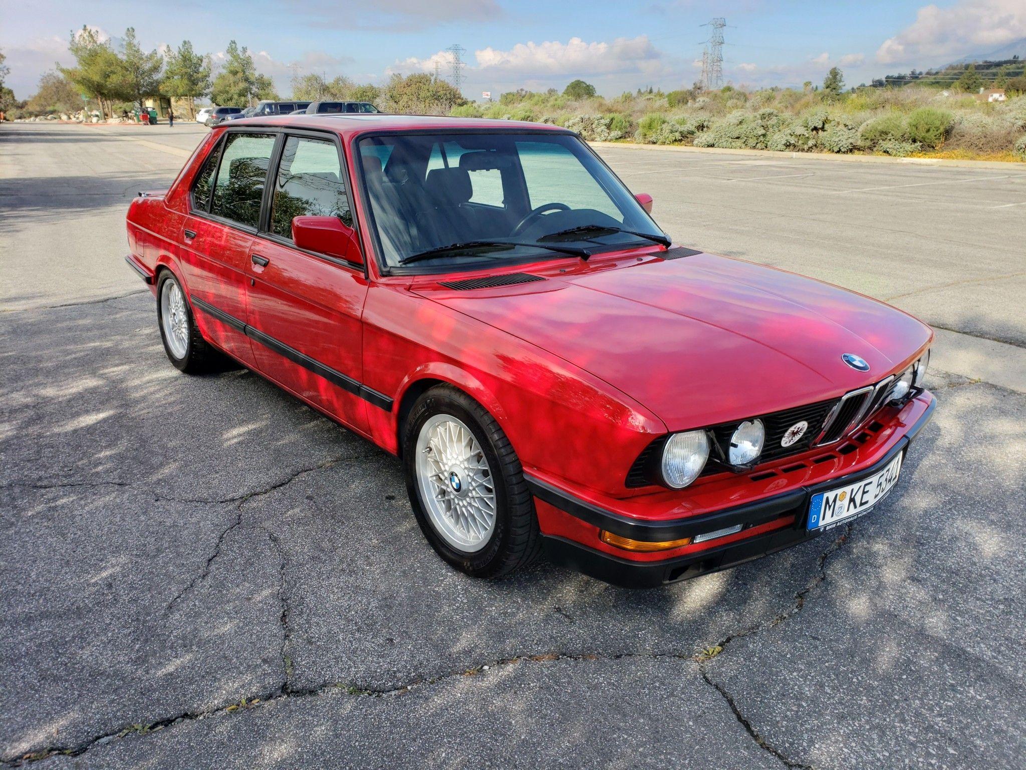 S38 Powered 1987 Bmw 535is 5 Speed Bmw Bmw E28 Classic Cars Online
