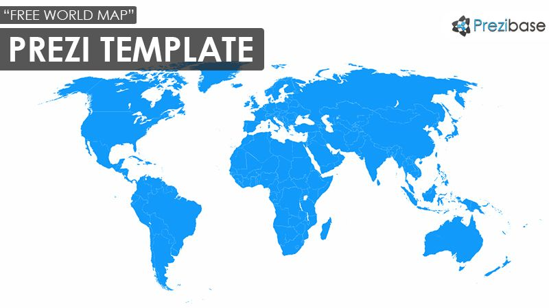 Free earth blue world map zoom prezi template prezi pinterest free earth blue world map zoom prezi template gumiabroncs Images