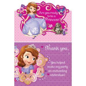Sofia The First Party Supplies Sofia The First Birthday Party