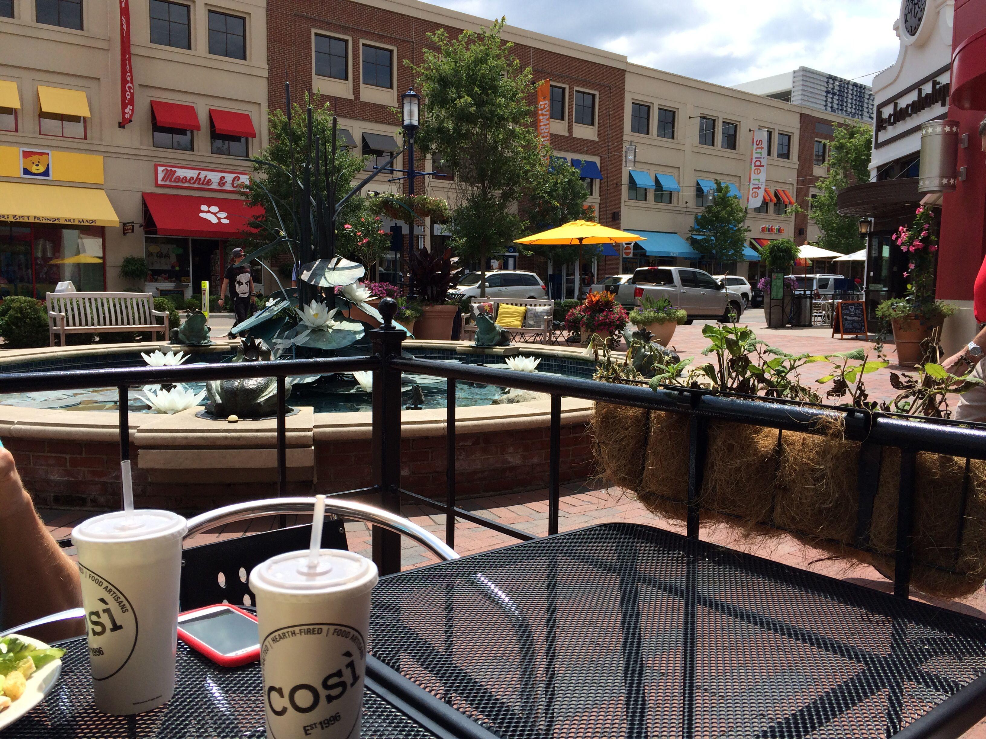 Easton Town Center Easton town center, Outdoor decor, Patio