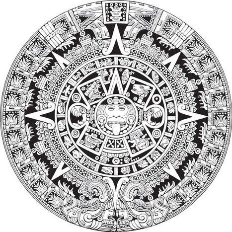 Calendario Vectorizado.Calendario Maya Vectorizado Gratis En Formato Eps