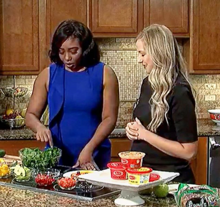 Wow We Had So Much Fun Watching Our Cincinnati Friend Tori Schmitt Of Yes Nutrition On Fox19 Show Off Her Culinary And N Healthy Face Healthy Plant Strong