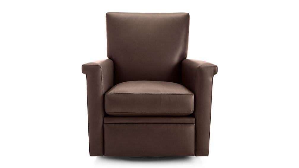 Brilliant Declan Leather 360 Swivel Recliner Recliners Swivel Inzonedesignstudio Interior Chair Design Inzonedesignstudiocom