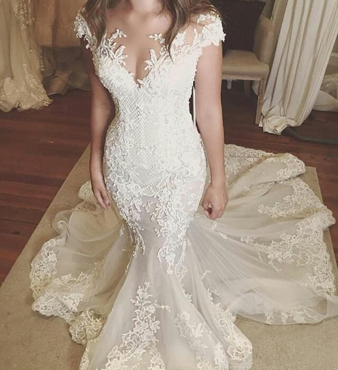 Inspired wedding dresses and recreations of couture designs by