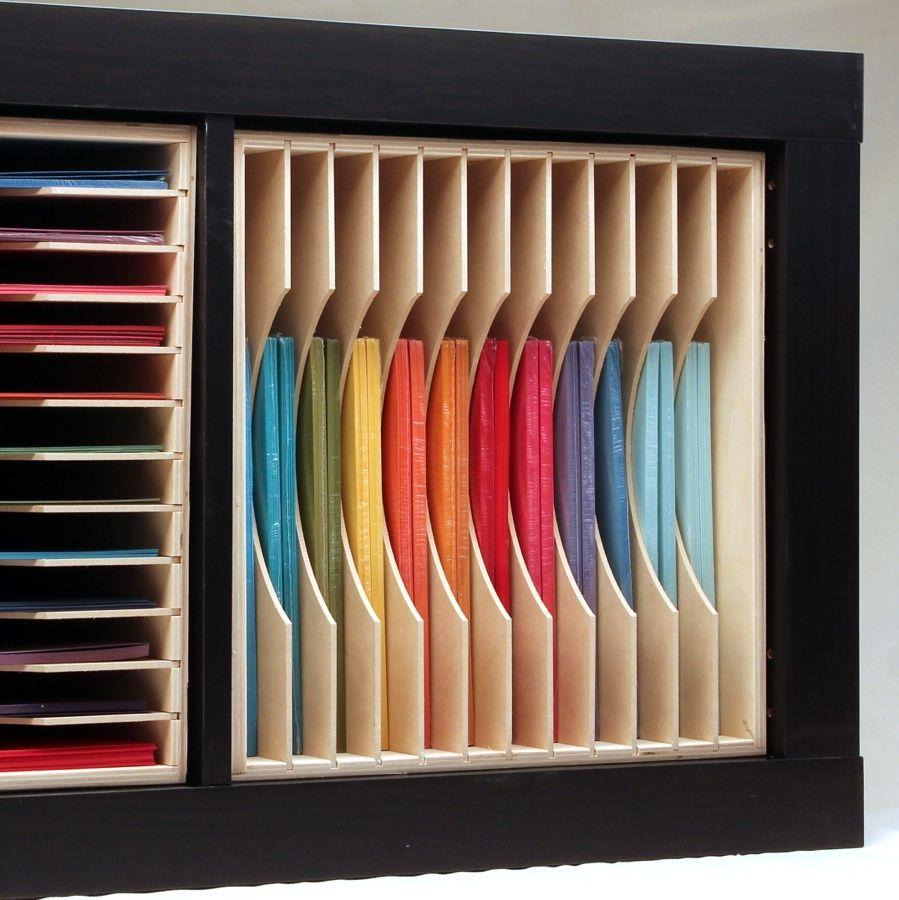 12x12 Paper Holders   Scrapbook storage, Craft room design ...