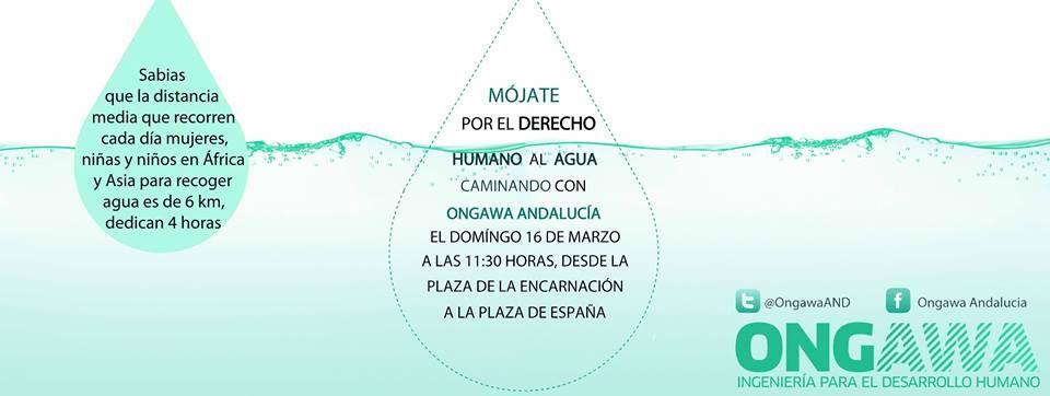 Sevilla camina por el Derecho Humano al Agua https://www.facebook.com/events/1451928065041636/?ref=5