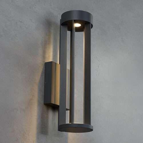Tech lighting turbo led outdoor wall light