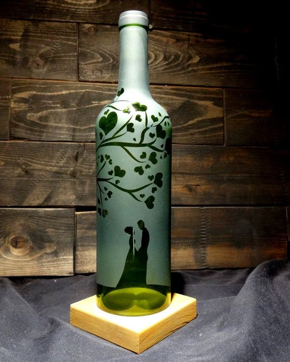 Moon Dogs Butterfly/'s Wind Chime Up-Cycled Wine Bottle
