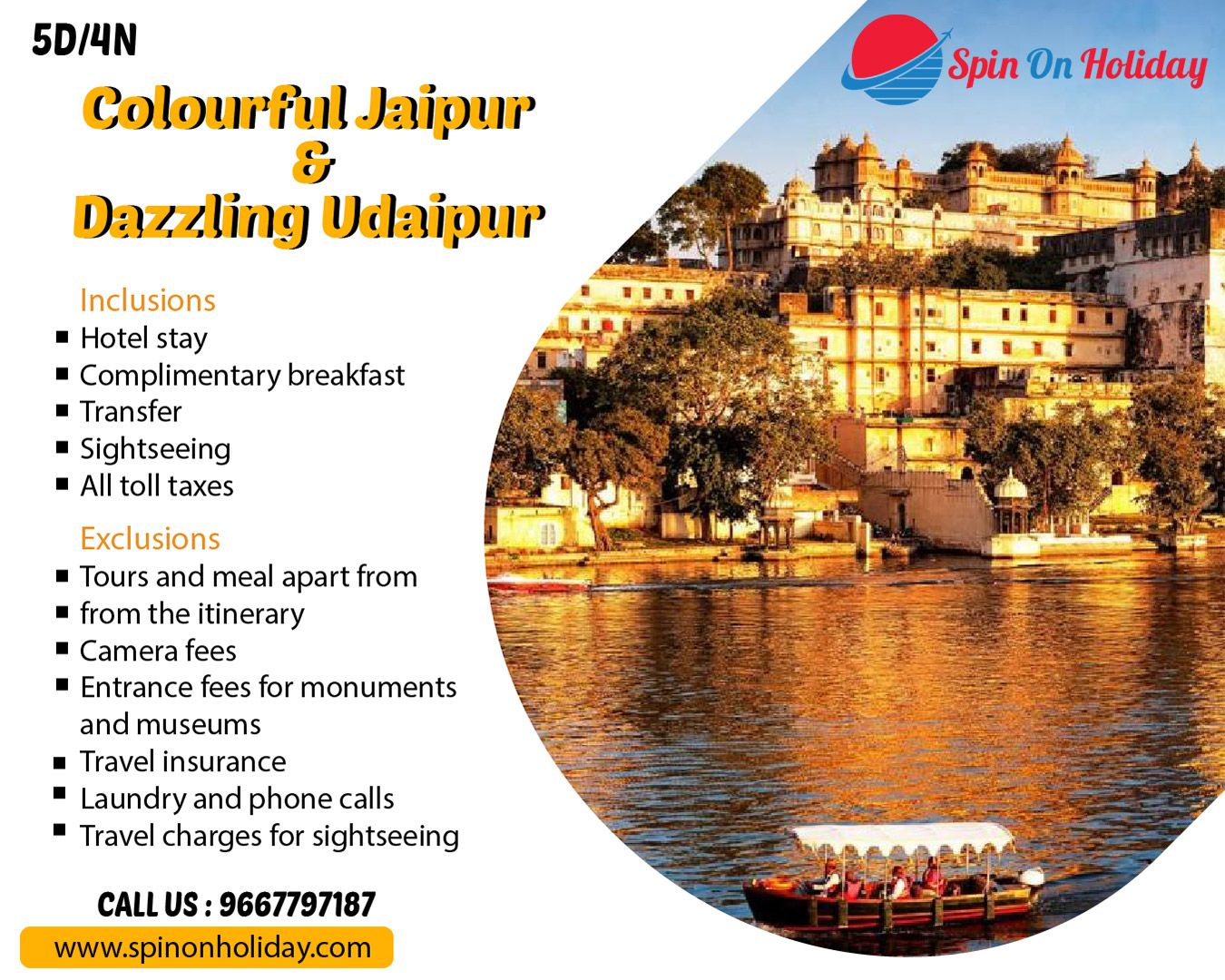 Jaipur amp Udaipur Tour Package Get involved with the culture heritage, lakes, historical scriptures
