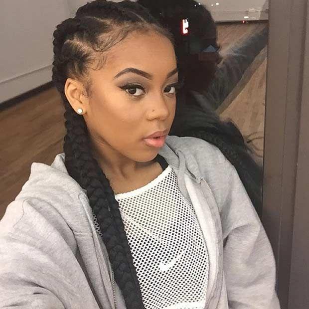 51 Best Ghana Braids Hairstyles Cool Braid Hairstyles