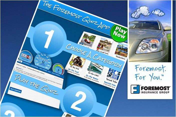 Foremost Insurance Quiz Creator Facebook Application Foremost