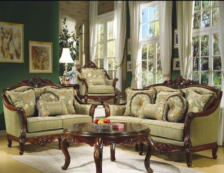 Muebles De Sal 243 N Estilo Victoriano Precioso Beide