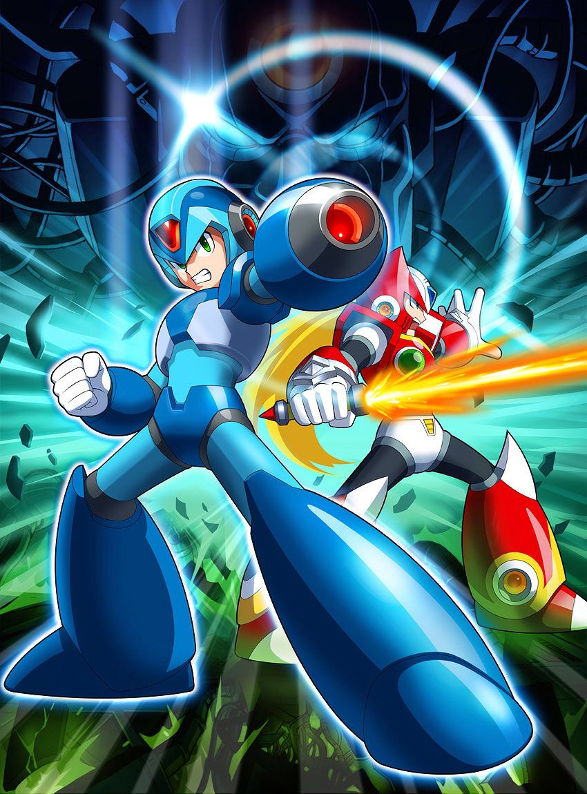 Megaman X And Zero Geeky Wallpaper Mega Man Mega Man Art