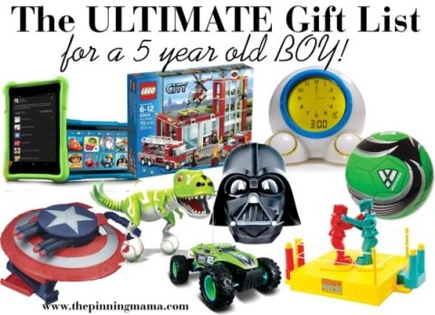 The BEST Gift Ideas I Have Seen For A 5 Year Old Boy This Was Put Together By Mom Of Boys