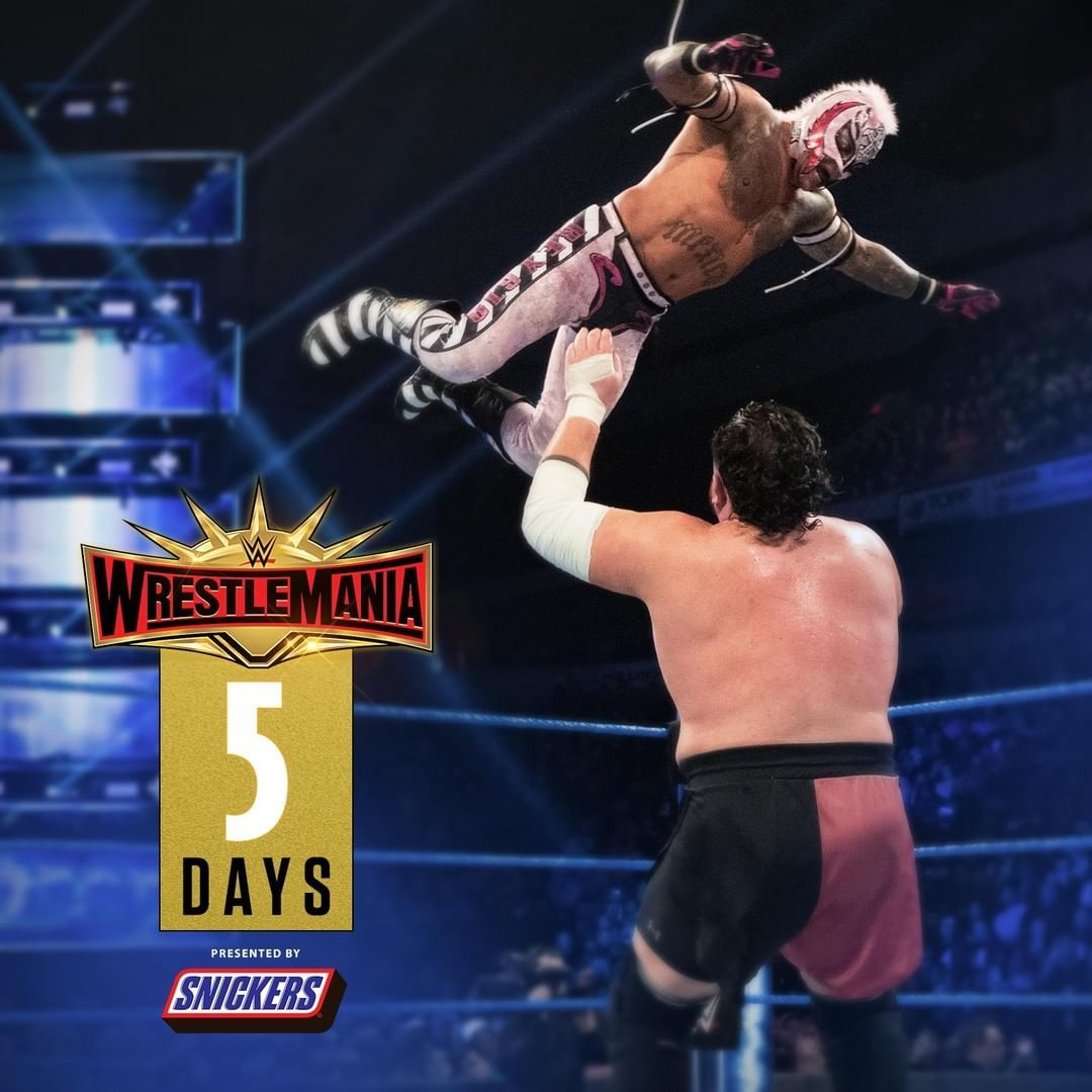 619iamlucha Meets Samoajoe Wwe For The Ustitle At Wrestlemania In Just 5 Days Watch Wrestling Wrestlemania Wwe