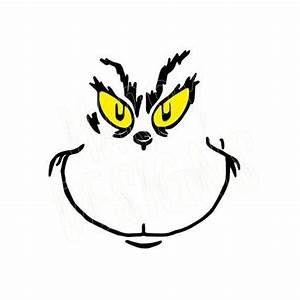 Free Grinch Face Svg Files For Cricut Yahoo Image Search Results Grinch Face Svg Grinch Cricut Grinch Characters