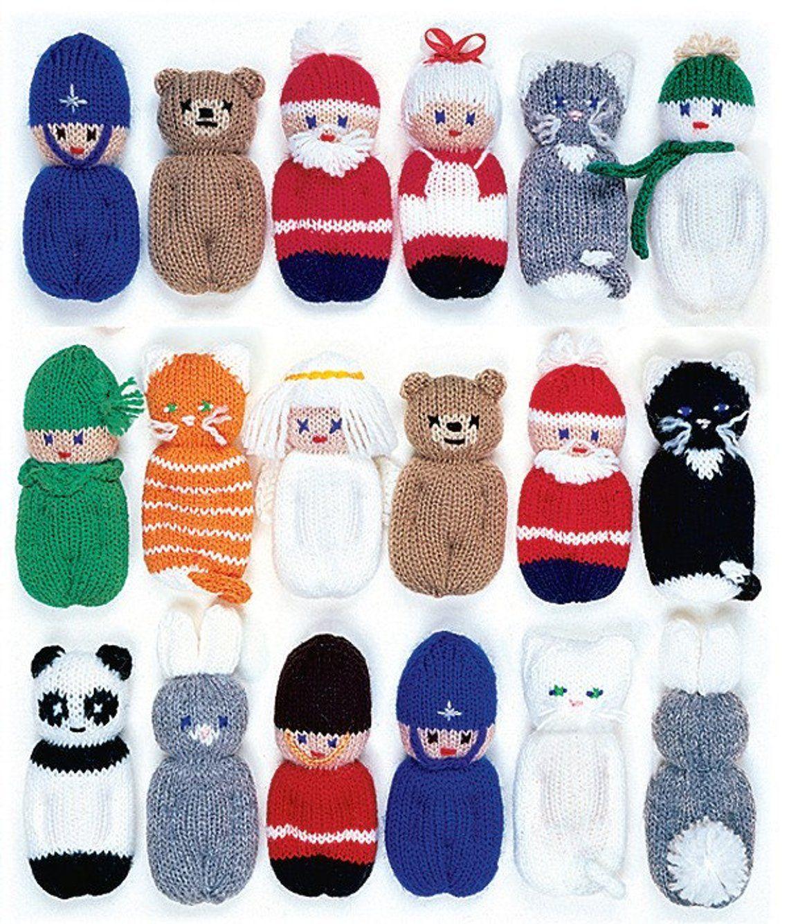 Photo of Eksempelbok juletre dekorasjoner (for strikking for hånd eller maskin)