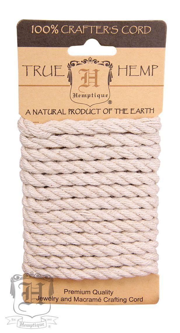 Dyed Hemp Rope Natural 6mm Hemp Hemp Twine