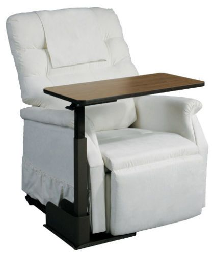 recliner chair laptop stand the revolving swivel table top for couch lift height adjustable right side