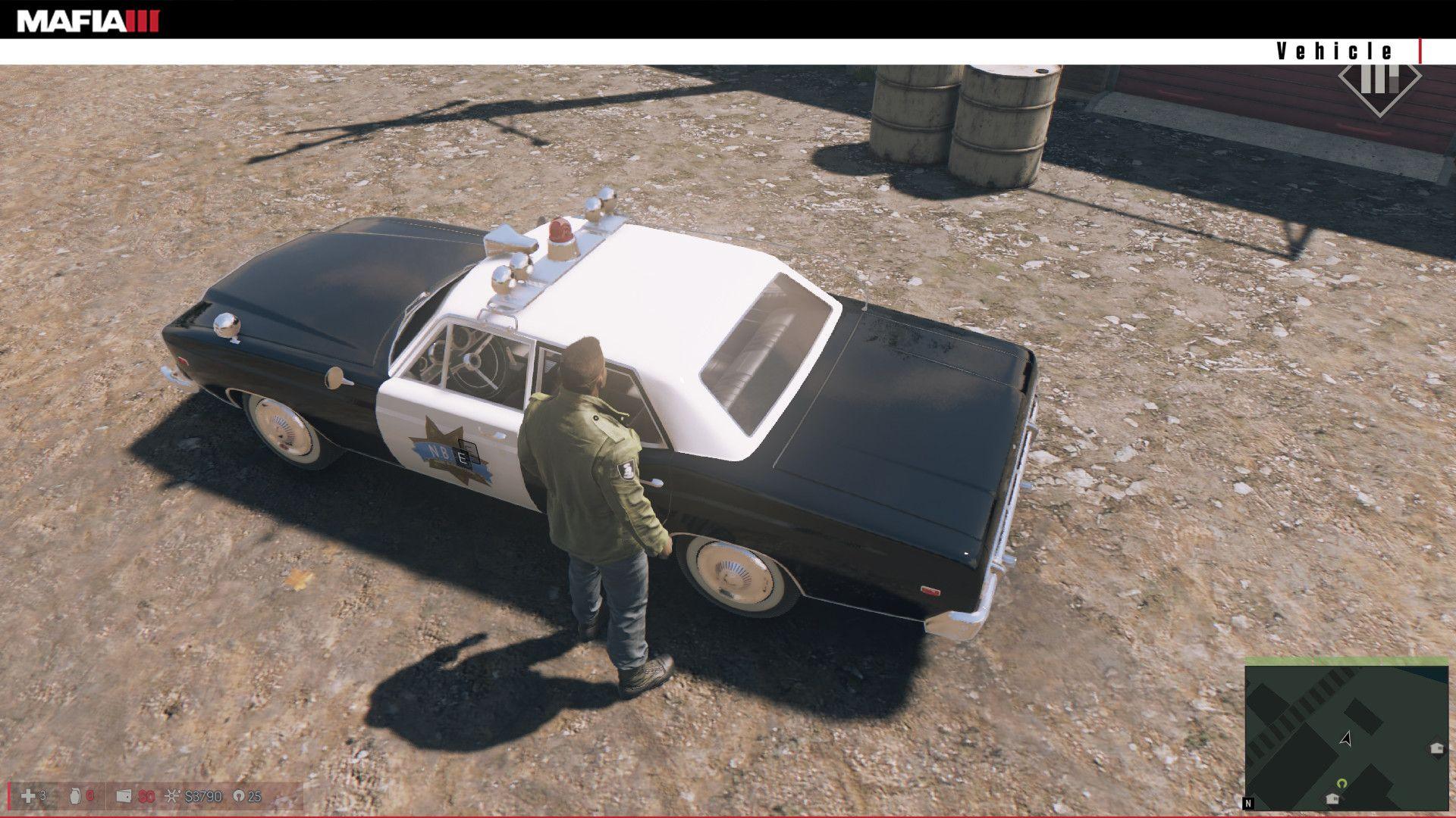 Artstation Police Car For Mafia 3 Game Scythgames Studio Police Cars Mafia 3 Game Car