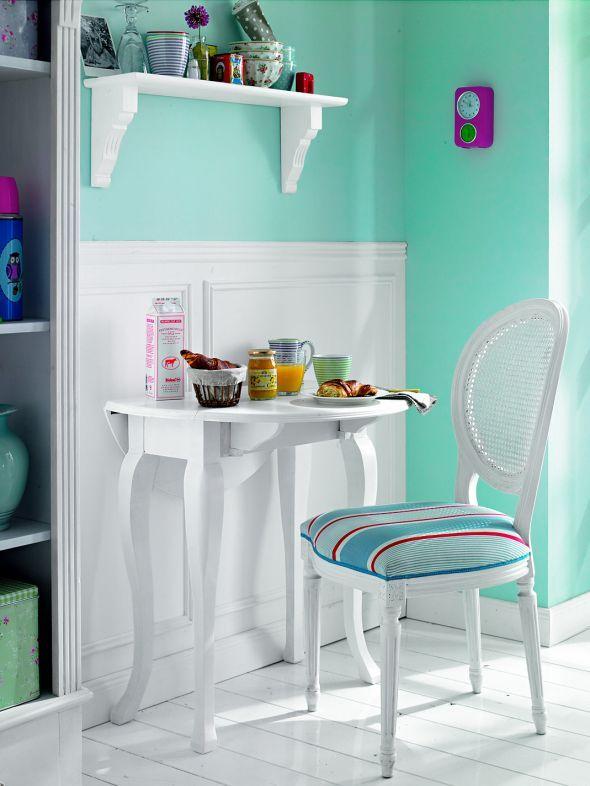 Essplätze für kleine Küchen | Tisch und stühle, Einrichtungstipps ...