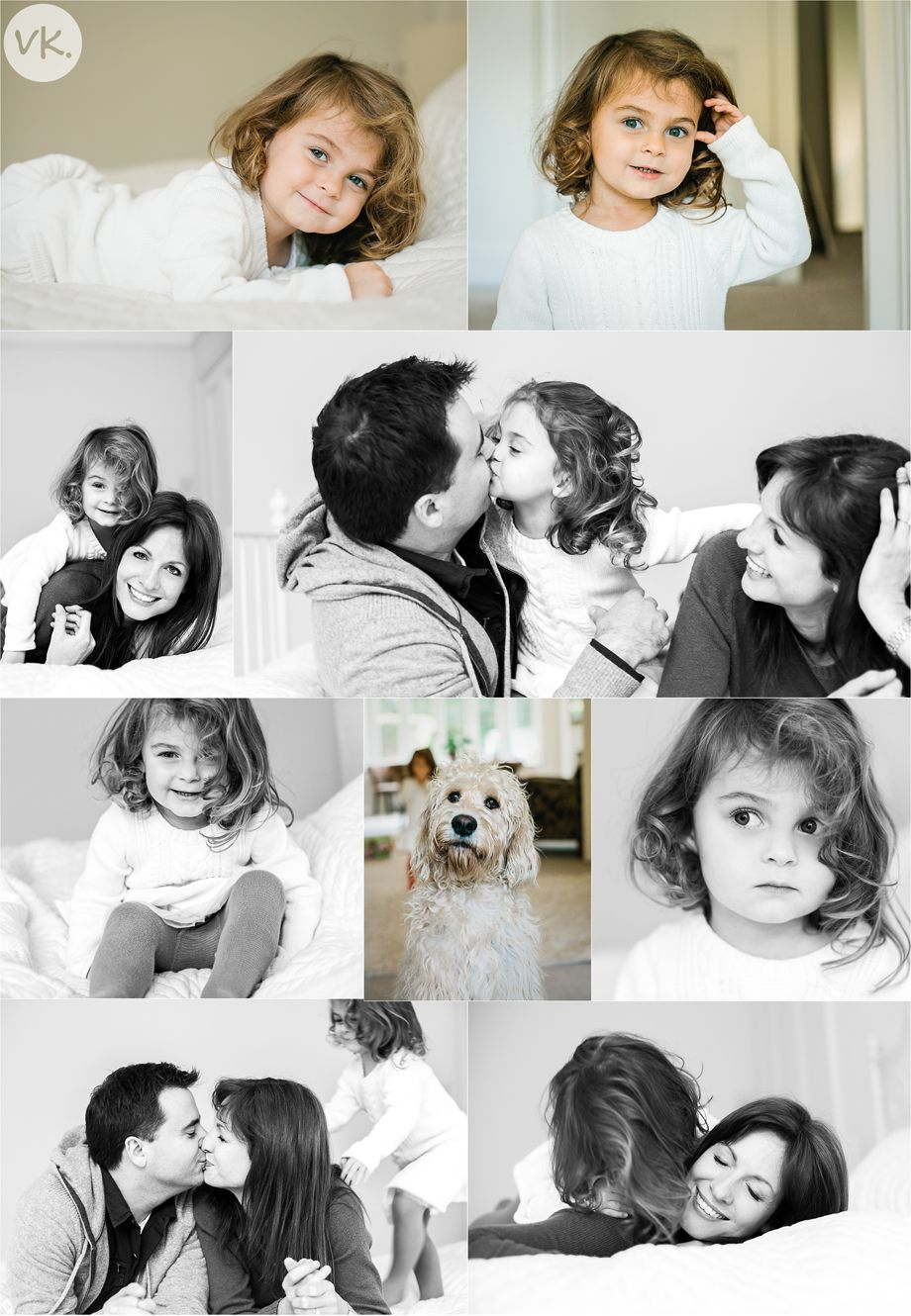 A family photo shoot at home in Esher - Vicki Knights Photography ...