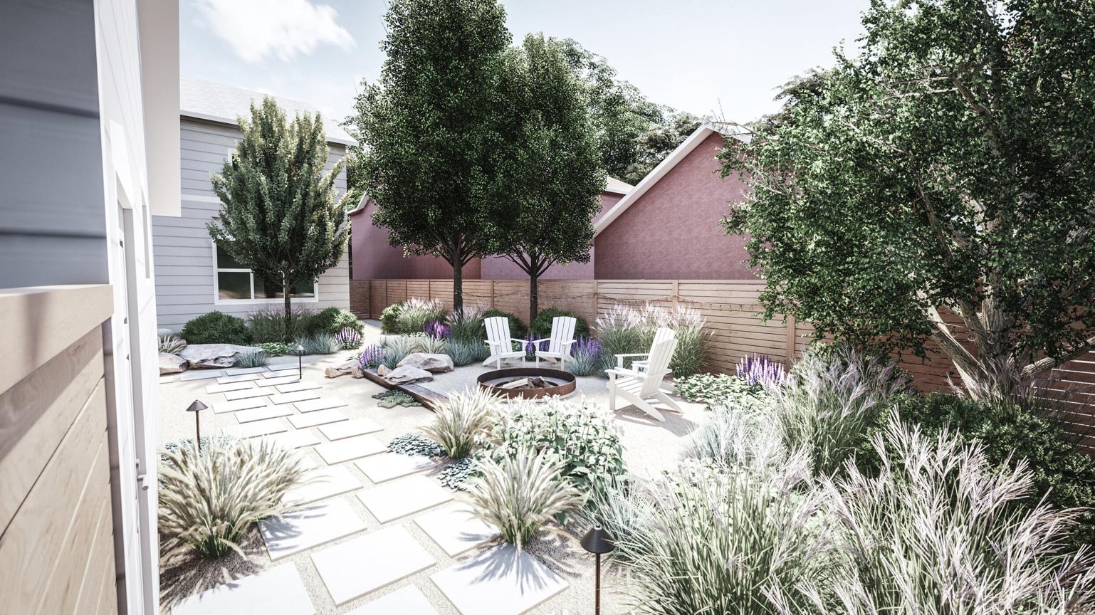 Backyard Design In Denver Colorado In 2021 Yard Design Online Landscape Design Landscape Design