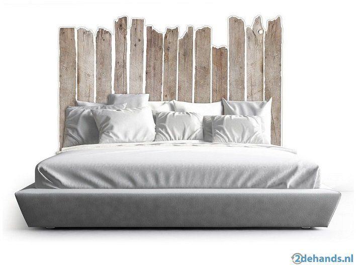 Uniek Sloophout Hoofdeinde Voor Bed In Div Maten Lit Pas Cher Canape Design Tapis Salon Pas Cher