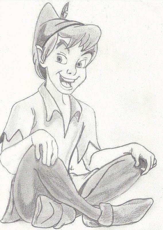 Peter pan dessins pinterest dessin personnage disney et id e dessin - Personnage disney dessin ...