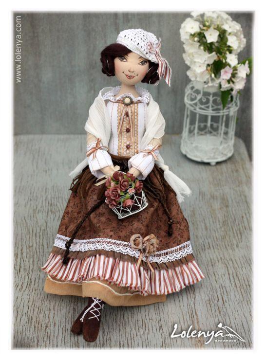 :: Crafty :: Cloth Doll :: 2 :: Gallery.ru / Lina - куклы 2 - lolenya