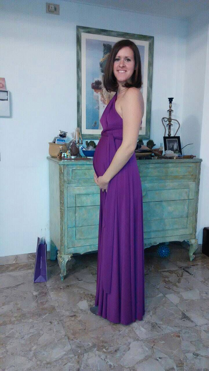 Great pic from a italian costumer with our maternity dress in ...