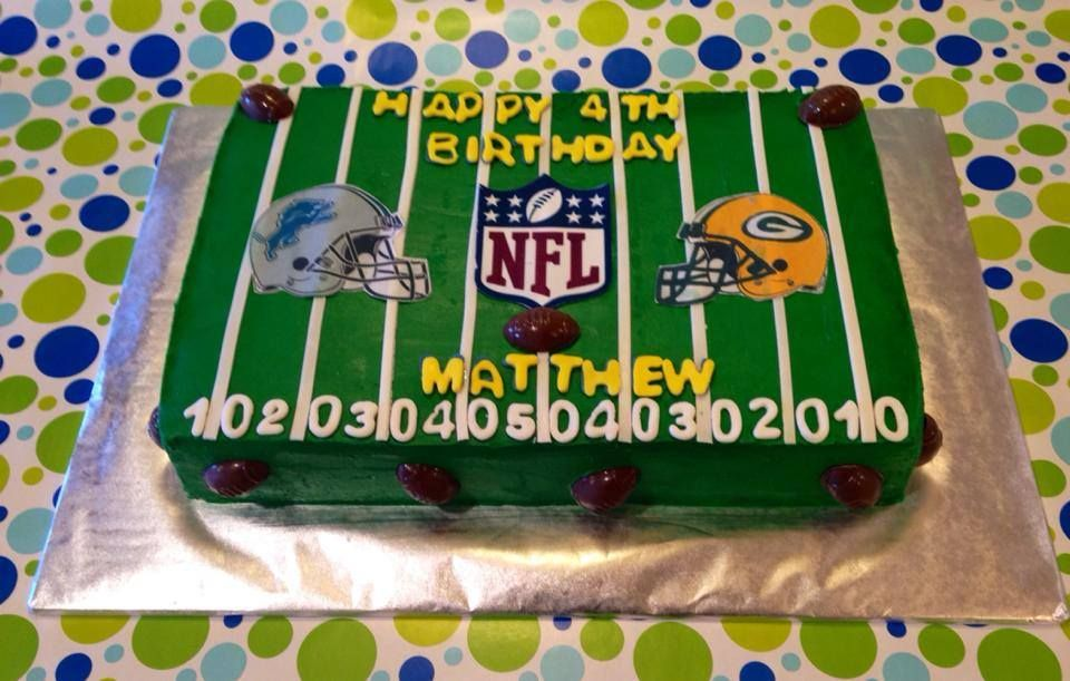 Pin by Cam Capozzoli on Sports Cakes & Cupcakes | Football
