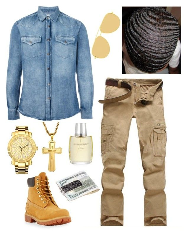 """Men Apparel "" by jaylinehilson on Polyvore featuring Timberland, Brunello Cucinelli, JBW, Yves Saint Laurent, Burberry, men's fashion and menswear"