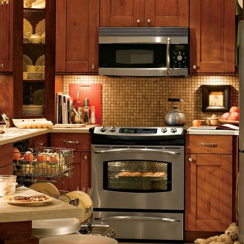 Amazing tips on decorating a small kitchen  - For More Go To  >>>>>>  http://interiordesign4.com/amazing-tips-decorating-small-kitchen/   - The kitchen has become the center of all household activity. The kitchen is where families cook, eat, entertain, watch television, use the computer and do homework. Given below are some amazing tips on decorating a small kitchen: The best idea to beautify your small kitchen is to add a ceiling...