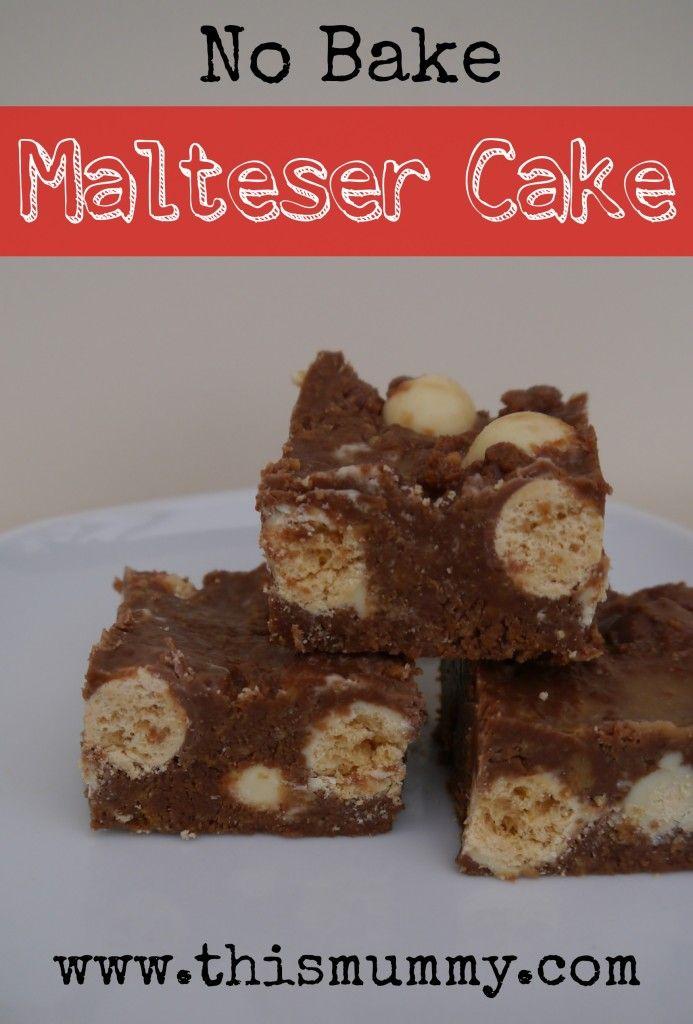 Malteser Cake Recipe Bbc