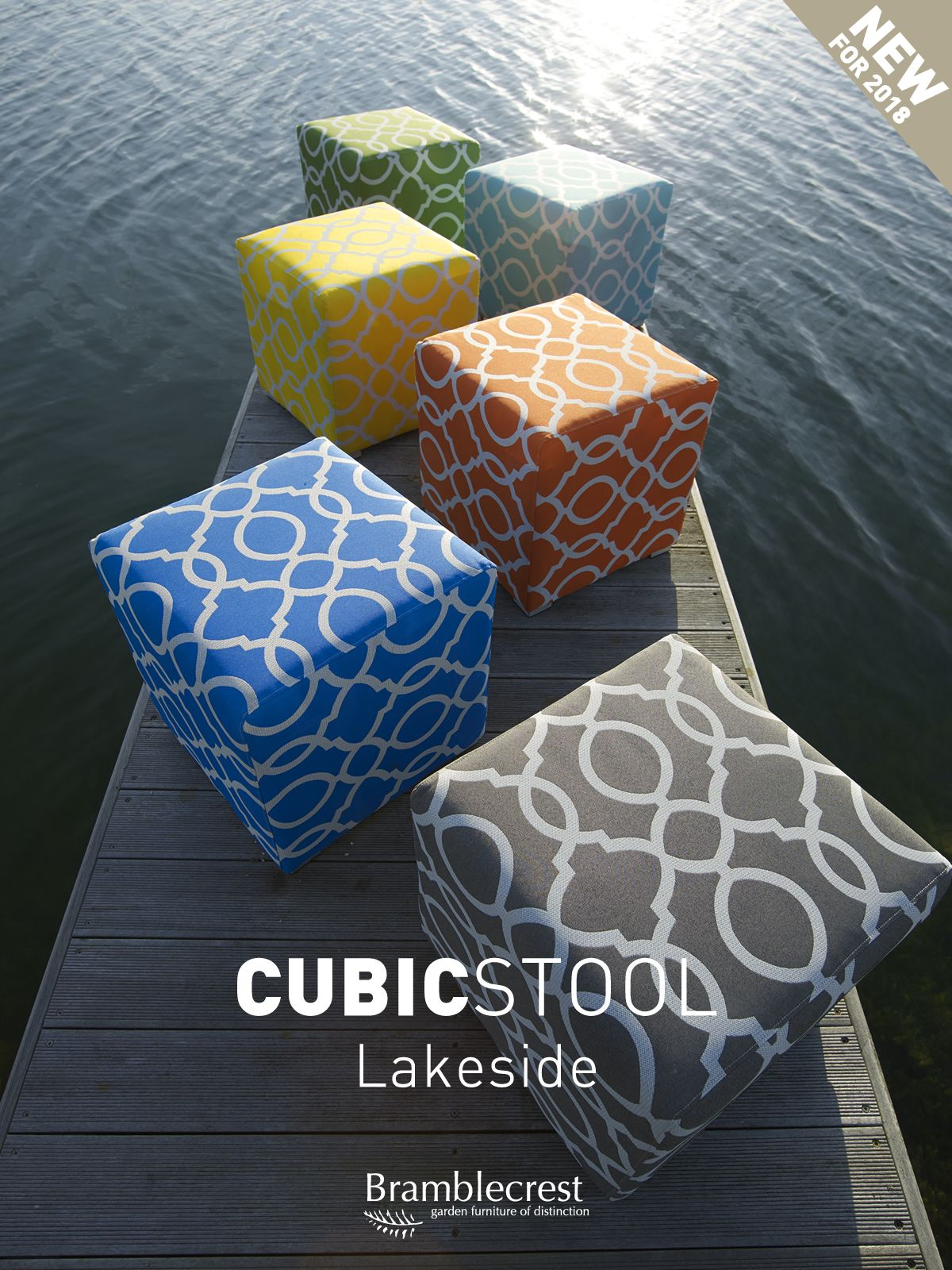 Inject hot hues into your alfresco scene with a stylish cluster of ...