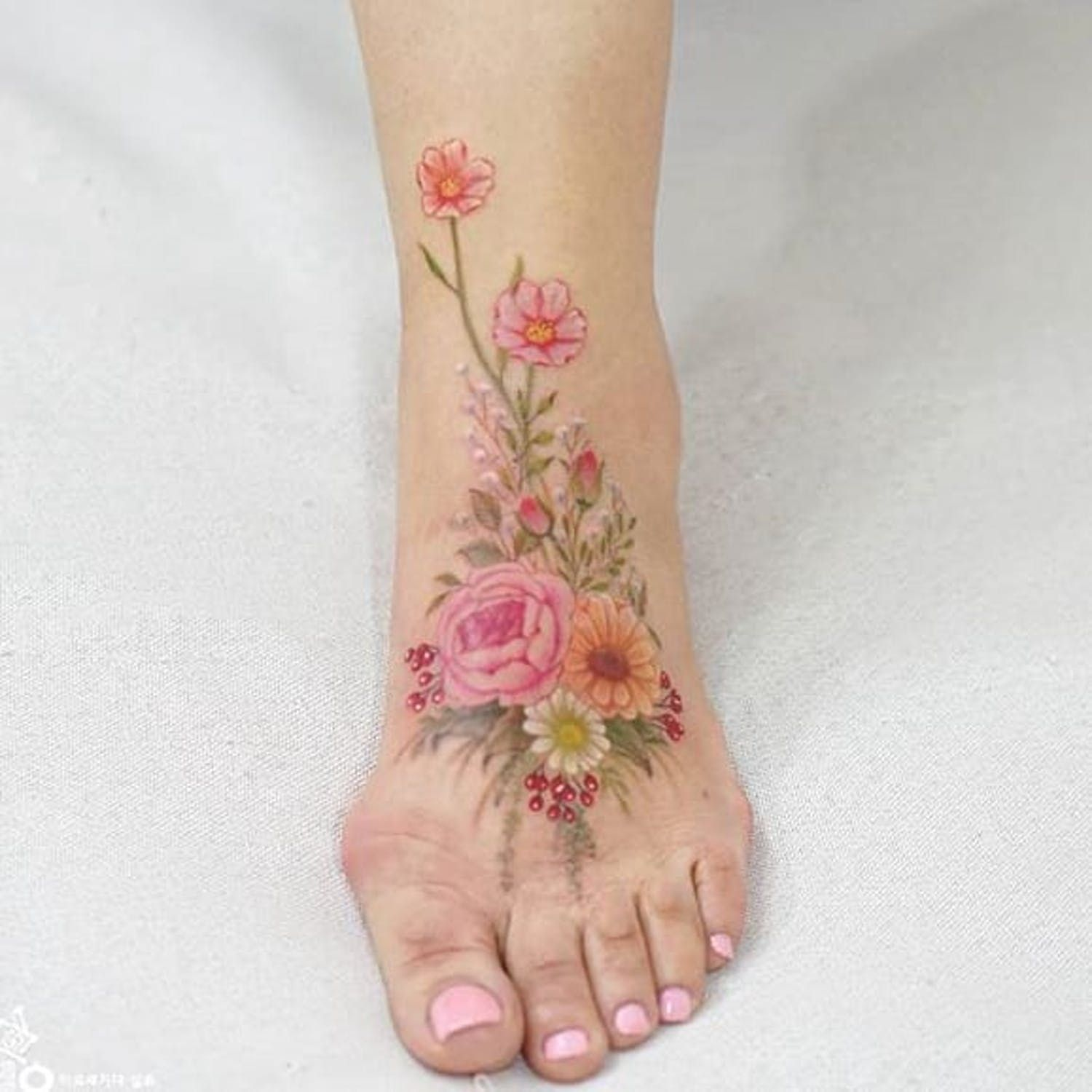 Rooted Via Instagram Tattooist Silo Flowers Floral Flora