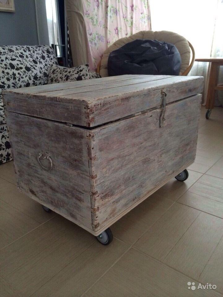 5264772c085 Старинный сундук отреставрированный купить в Самарской области на Avito — Объявления  на сайте Avito