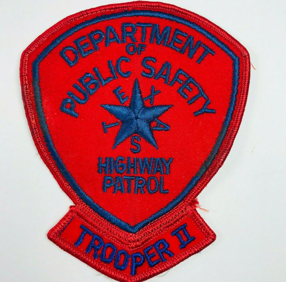Trooper II Texas Department Of Public Safety DPS Highway