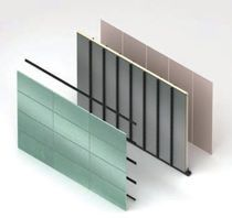 Smooth cladding / panel / self-supporting