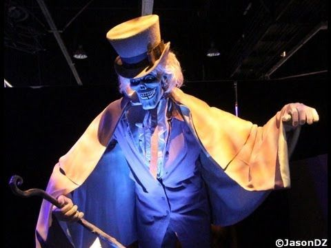 Haunted Mansion Hatbox Ghost And Animatronics Haunted Mansion Disneyland Disney Imagineering Disney Secrets