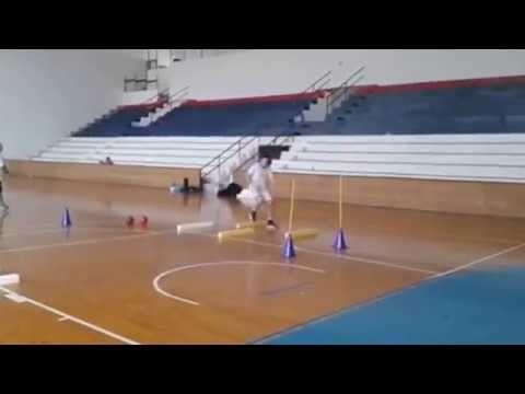 Des exercices de Handball - YouTube | Exercices handball ...
