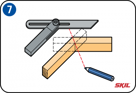 Auf Gehrung Schneiden Holz Schneiden Gehrung Sagen Und Deckenleisten