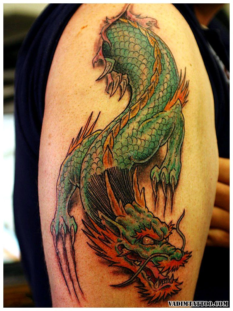 45 Chinese Dragon Tattoo Designs and Meanings | Dragon