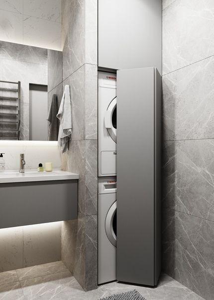 Rangement Sous Sol Von Samuel Comsel In 2020 Kleine Badezimmer Wohnung Badezimmer Badezimmer Innenausstattung