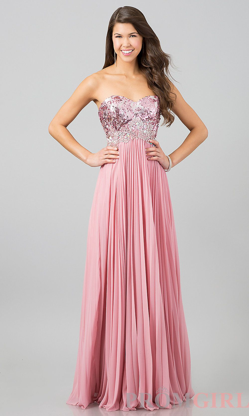 Long Prom Dress Style: DQ-8643 Front Image   love fashion   Pinterest