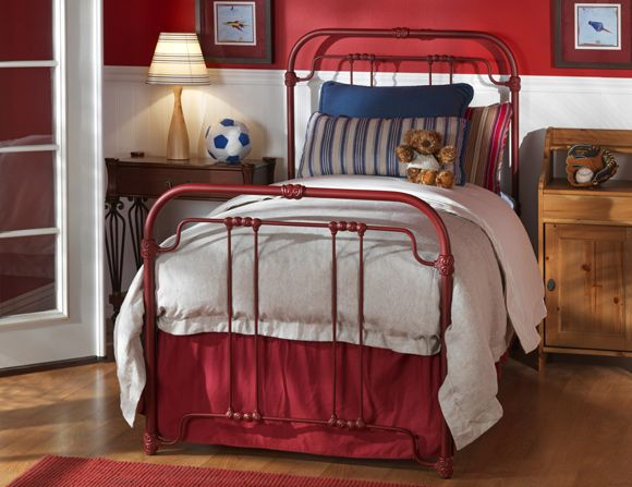 wesley allen iron beds come in 21 antiqued finishes 1089 timberlake headboard 525h - Twin Bed Frame For Sale