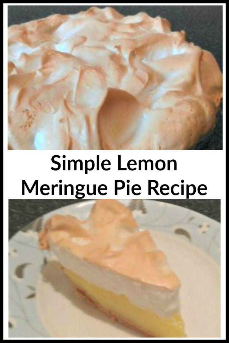 Lemon Meringue Pie Recipe Promise