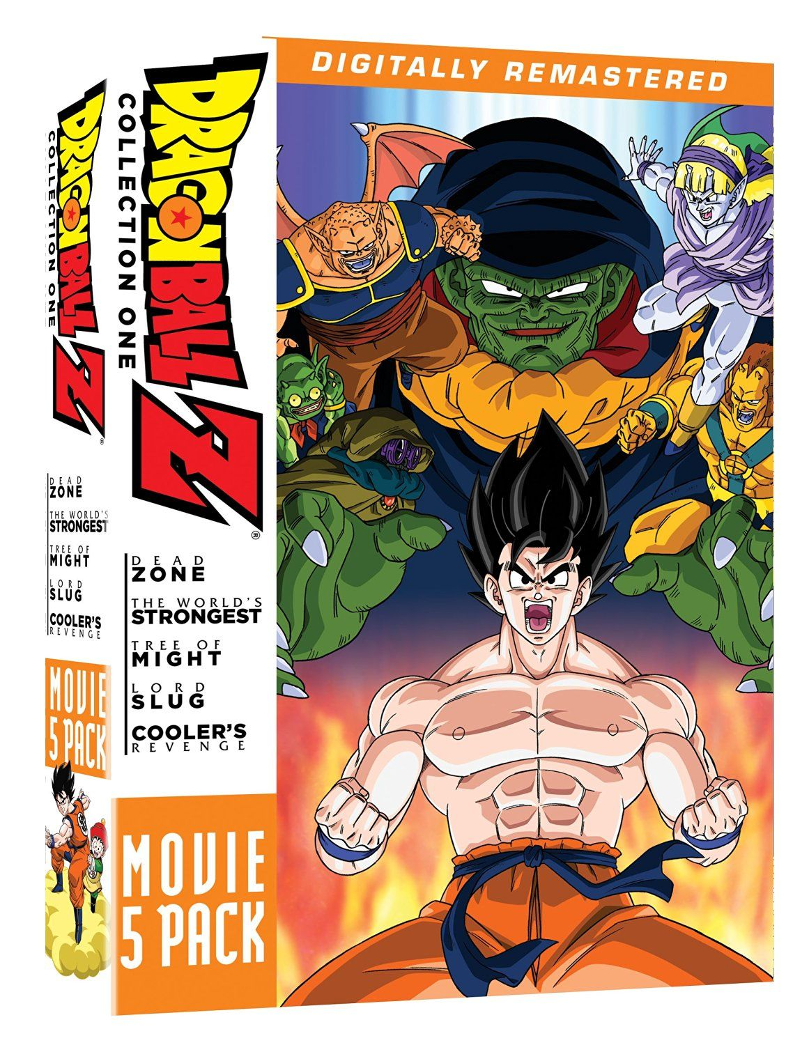 Dragon ball z movie pack collection one